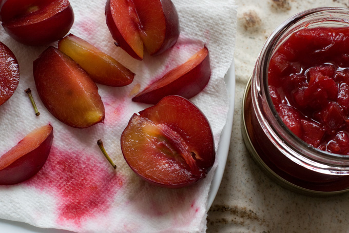 Rosewater Plum Compote Recipe - 101 Cookbooks