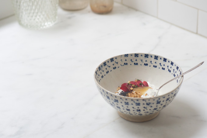 Pluot & Poppy Yogurt  Bowl recipe