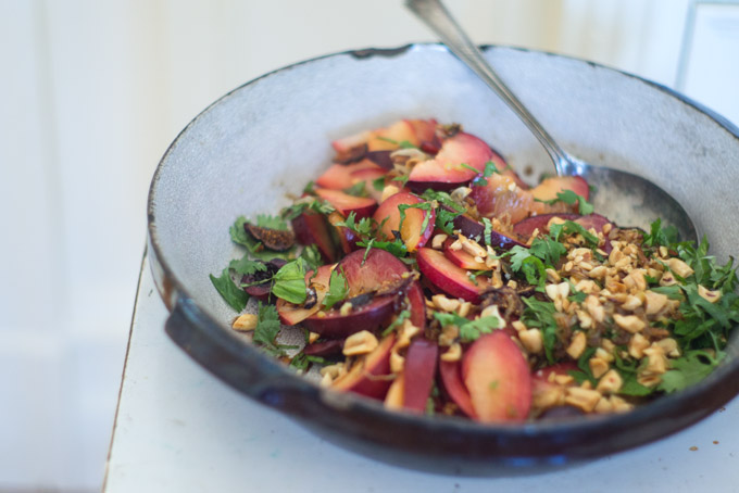 Pluot Summer Salad