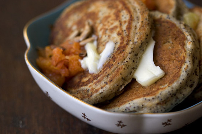 Poppy Seed Pancakes Recipe - 101 Cookbooks