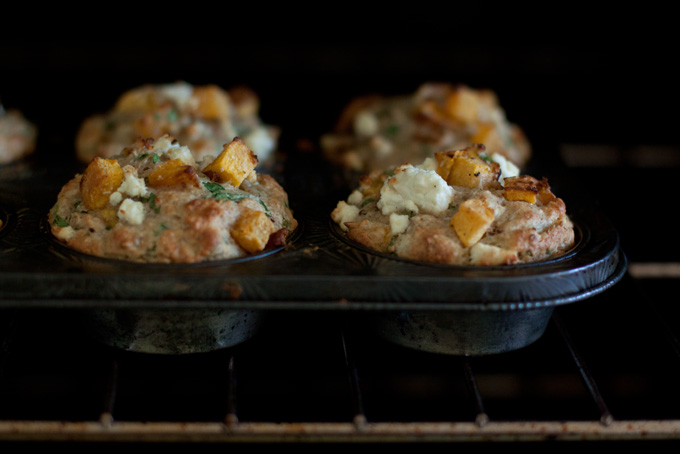 Pumpkin and Feta Muffins Recipe - 101 Cookbooks