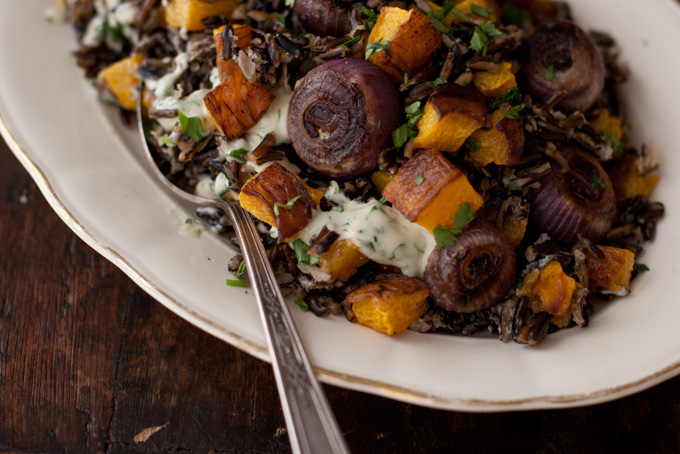 Roasted Pumpkin Salad recipe