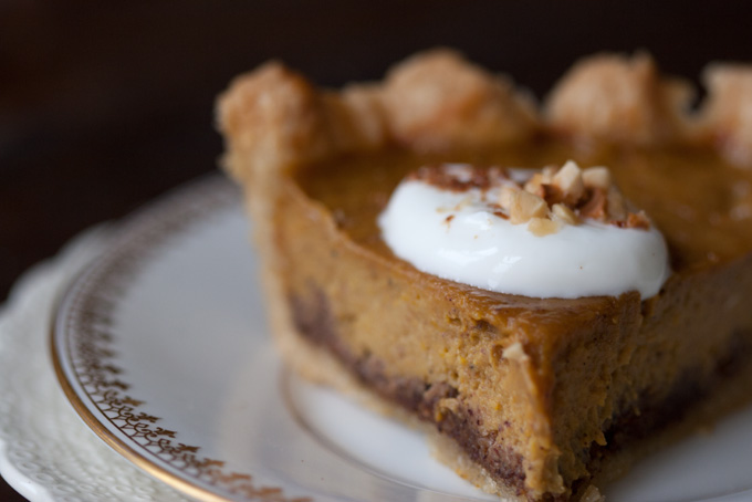 Spice-kissed Pumpkin Pie recipe
