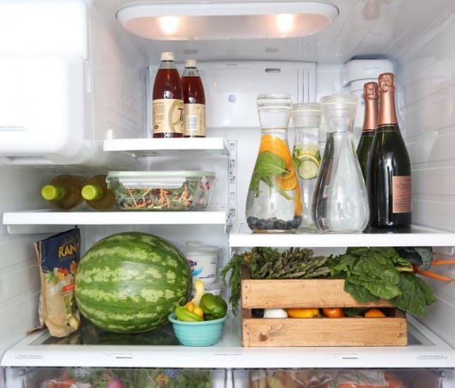 Ten Refrigerators that Inspire Healthy Eatings