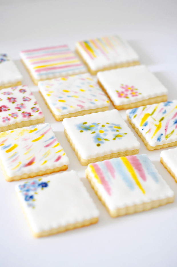 Soft Cat Food >> Inspiring Hand-painted Watercolor Cookies - 101 Cookbooks