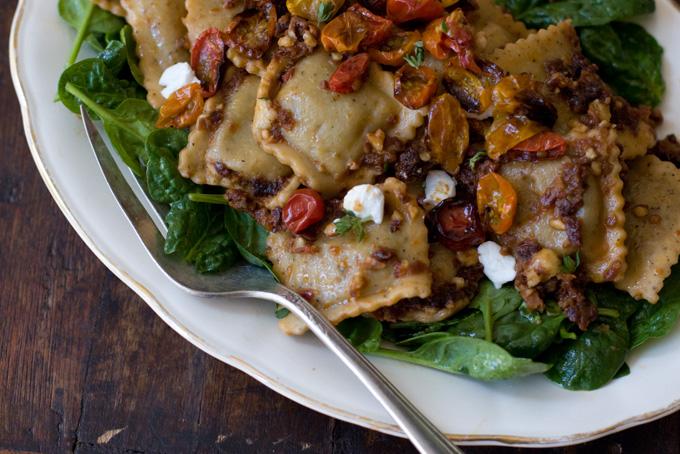 Red Pesto Ravioli Recipe - 101 Cookbooks