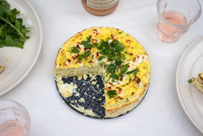 Zucchini Ricotta Cheesecake Recipe - 101 Cookbooks