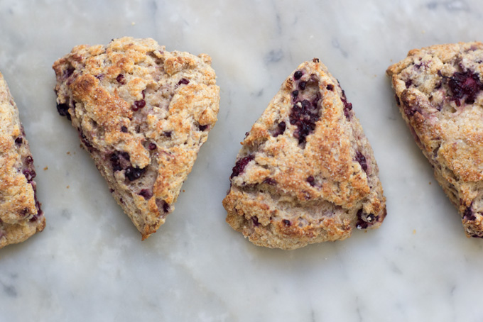 Whole Wheat Blackberry Ricotta Scones Recipe - 101 Cookbooks