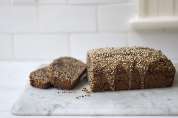 Sesame Banana Bread Recipe