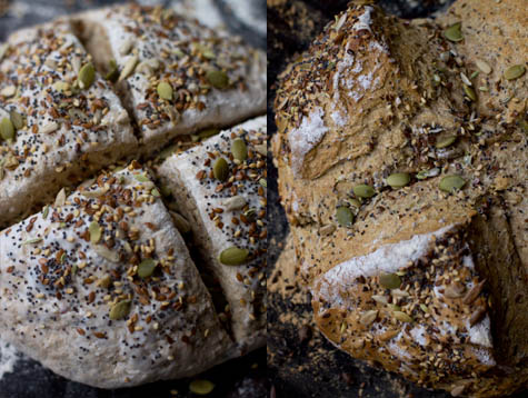 Six Seed Soda Bread Recipe