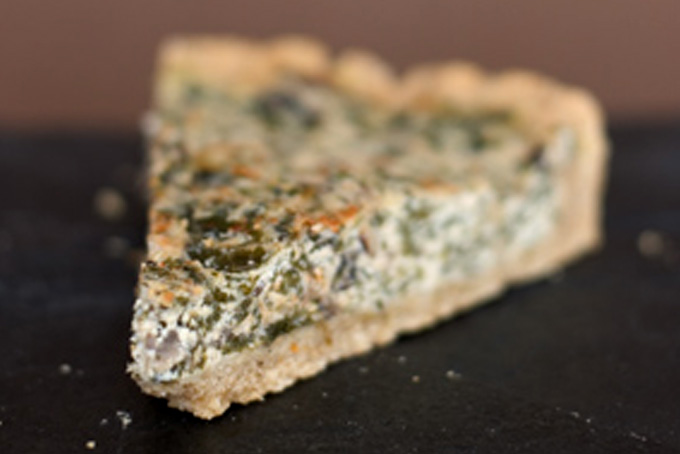 Spinach-Mushroom Quiche Recipe - 101 Cookbooks
