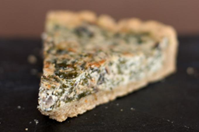 Spinach-Mushroom Quiche Recipe - 101 Cookbooks