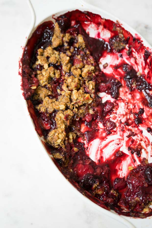 Summer Berry Crisp Recipe