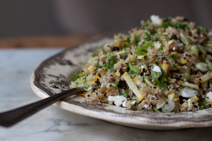 Quinoa with Currants, Dill, and Zucchini Recipe - 101 Cookbooks