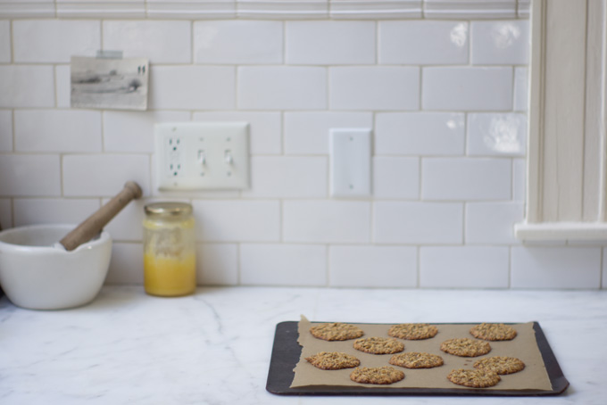 Thinnest Oatmeal Cookies Recipe - 101 Cookbooks