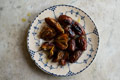 Broiled Saffron Dates recipe