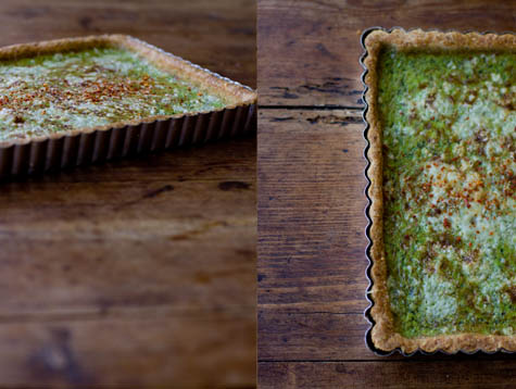 Turnip Green Tart Recipe
