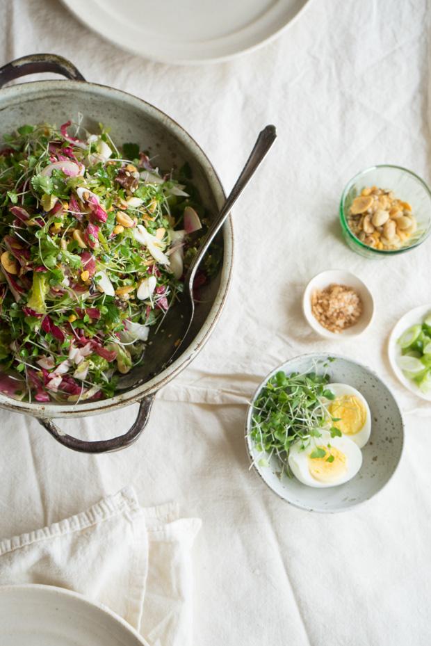 Shredded Un-Chicken Salad