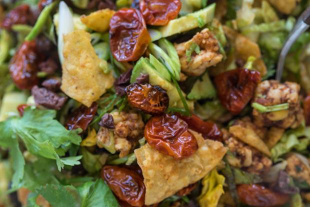 Tempeh Taco Salad