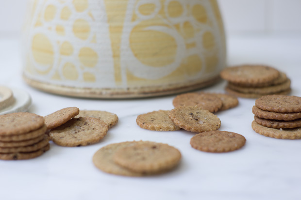 Whole Vanilla Bean Cookies