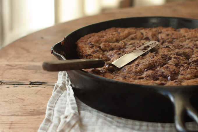 Whole Wheat Chocolate Chip Skillet Cookies Recipe - 101 Cookbooks