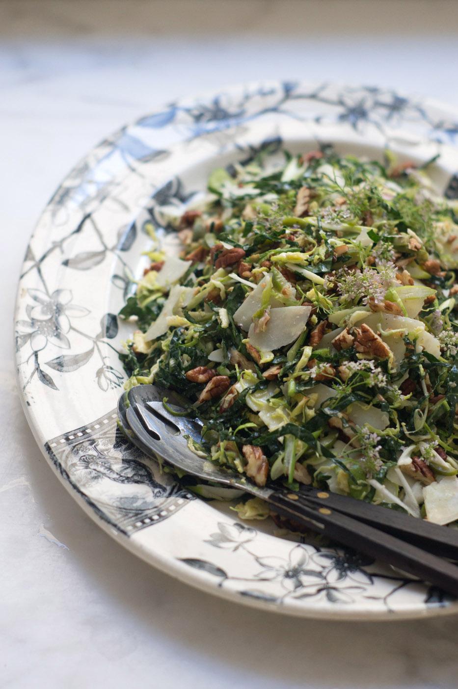 Lacinato Kale & Pecorino Salad