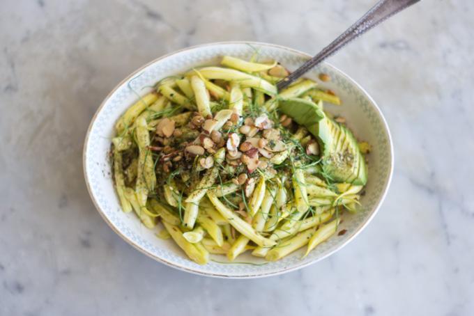 Yellow Wax Beans Amp Scallions Recipe 101 Cookbooks